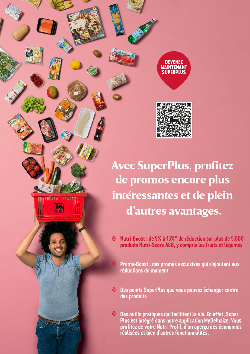 Creatieve advertentie van Proxy Delhaize Saint-Michel Proxy Delhaize Saint Michel
