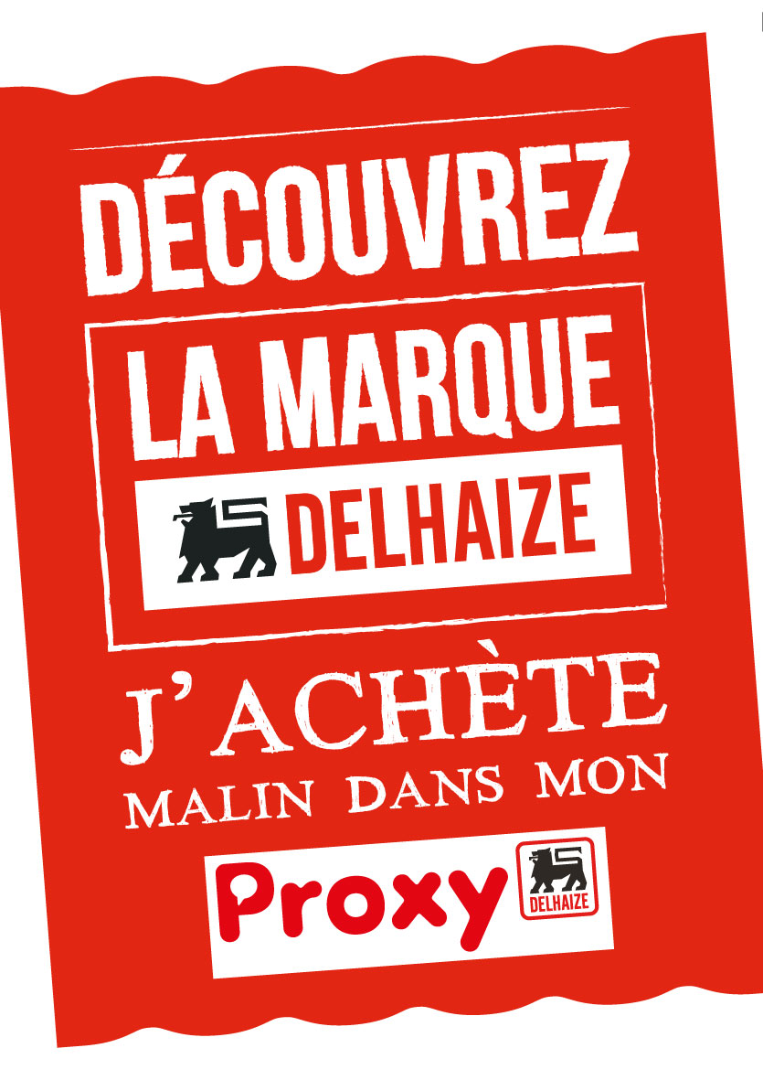publication supermarchéProxy Delhaize Bambrugge